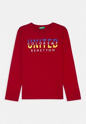 BASIC BOY - Langærmede T-shirts - red
