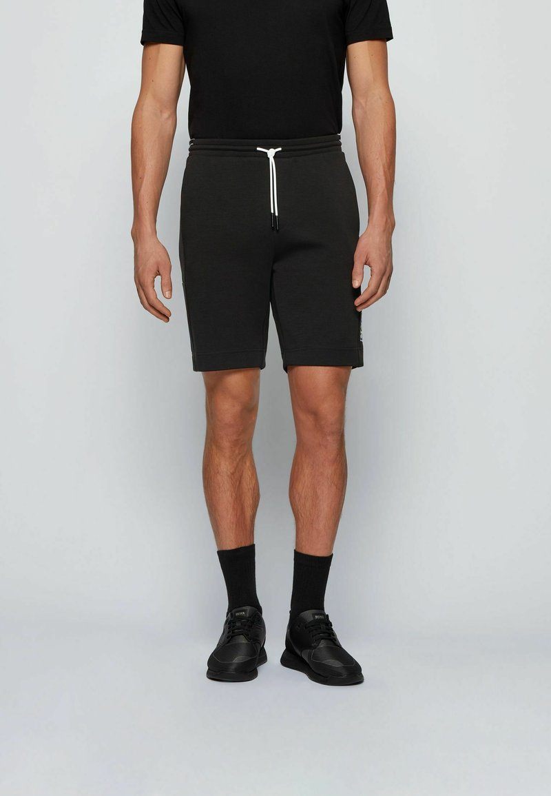 BOSS - HEADLO - Shorts - black