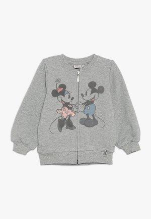LOVE BABY - veste en sweat zippée - melange grey