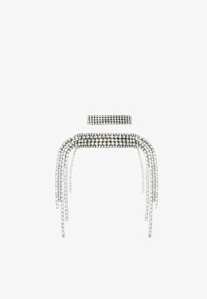 2-PACK  - Hair Styling Accessory - silver coloured