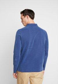 Marc O'Polo - LONG SLEEVE - Polo shirt - navy peony - 2
