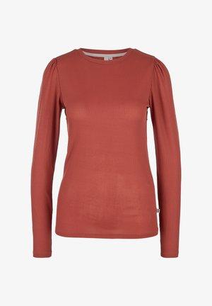Maglietta a manica lunga - rust red