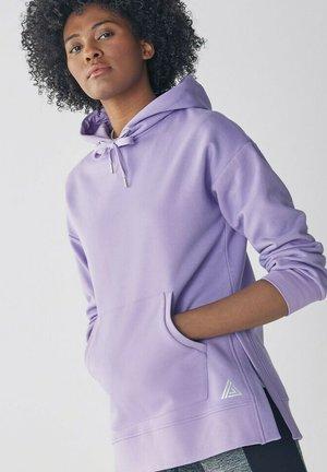 LONGLINE - Hoodie - purple