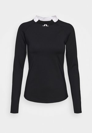 ELEONORE LONG SLEEVE GOLF  - Top s dlouhým rukávem - navy