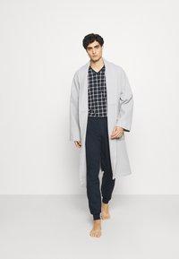 Ceceba - V-NECK SET - Pyjamas - blue dark - 1