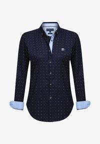 Sir Raymond Tailor - Button-down blouse - navy - 0
