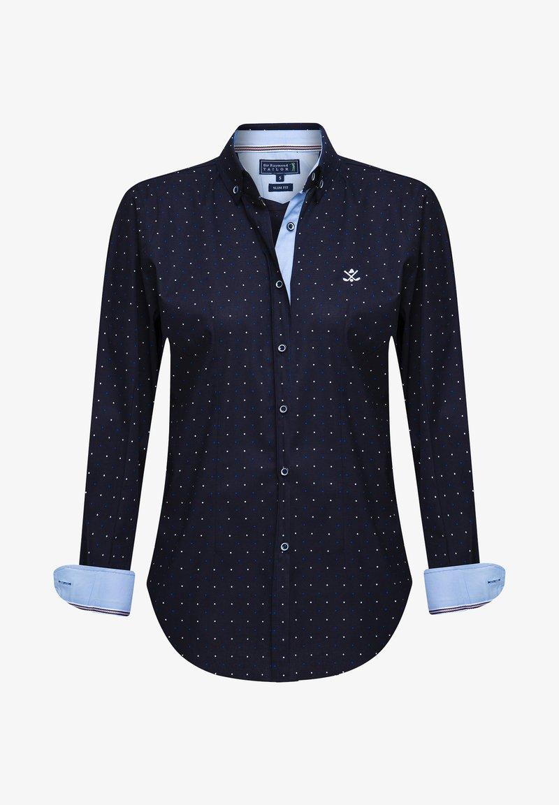 Sir Raymond Tailor - Button-down blouse - navy
