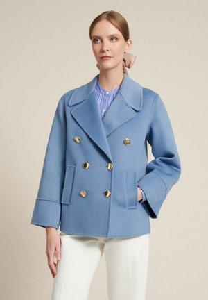 Short coat - celeste