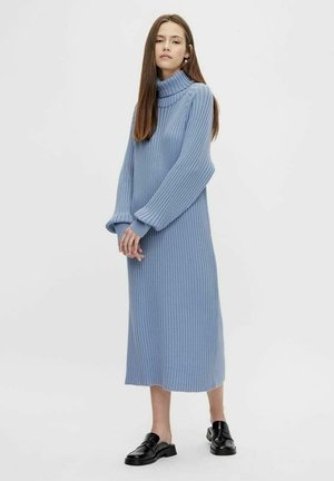 Jumper dress - cashmere blue