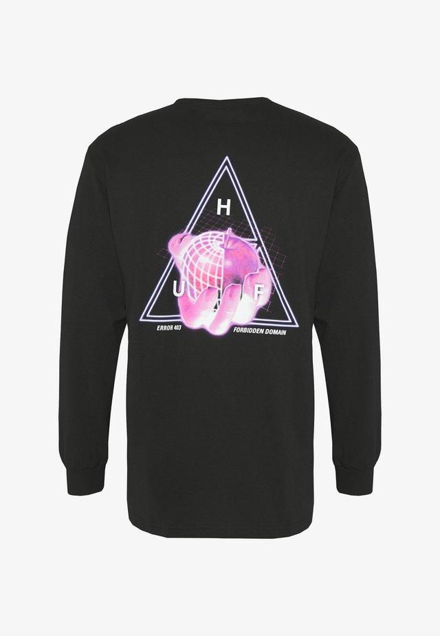 FORBIDDEN DOMAIN TEE - Camiseta de manga larga - black