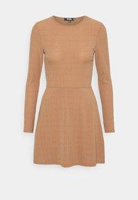 Missguided - SKATER DRESS - Day dress - camel - 3