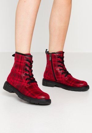 Veterboots - red/multicolor