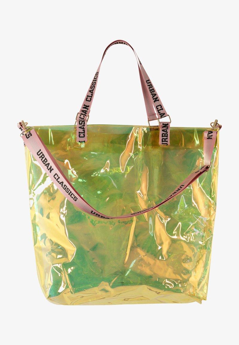 Urban Classics - Tote bag - holographic orange