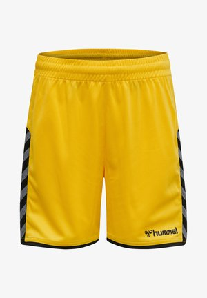 HMLAUTHENTIC  - Sports shorts - sports yellow/black