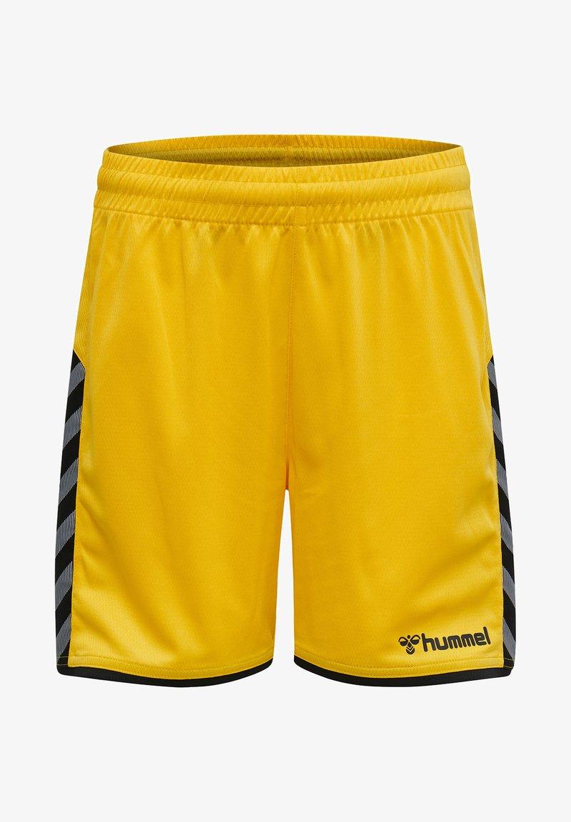 Hummel - HMLAUTHENTIC  - Sports shorts - sports yellow/black