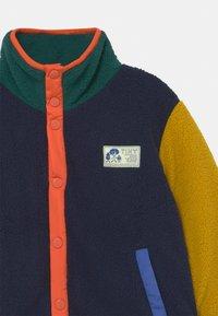 TINYCOTTONS - UNISEX - Fleece jacket - deep blue/honey - 2