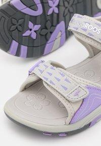KangaROOS - K-BLONDE - Walking sandals - vapor grey/lavender - 5