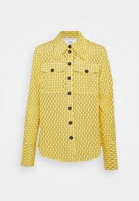 Victoria Victoria Beckham - PATCH POCKET SHIRT - Blouse - sicilian lemon - 4