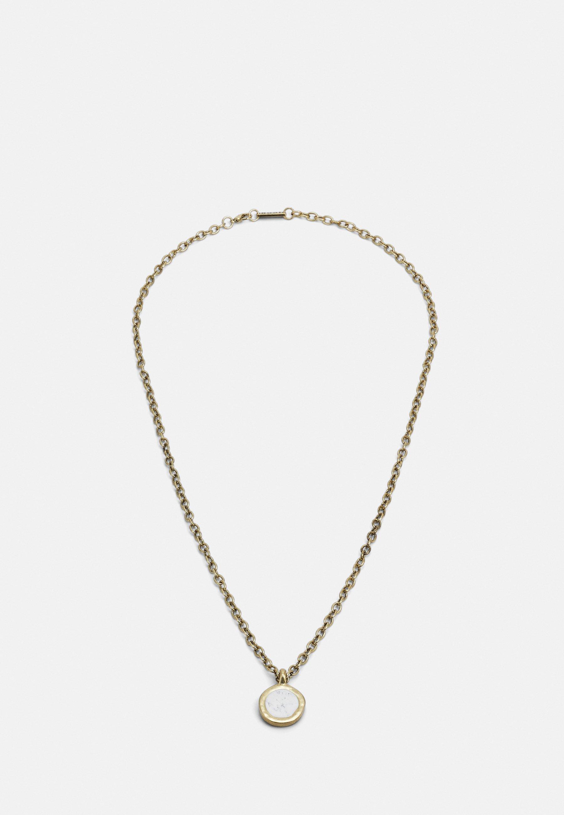 Men ROUND COMPOSITE NECKLACE - Necklace
