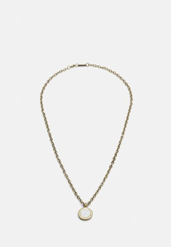 ROUND COMPOSITE NECKLACE - Necklace - gold-coloured