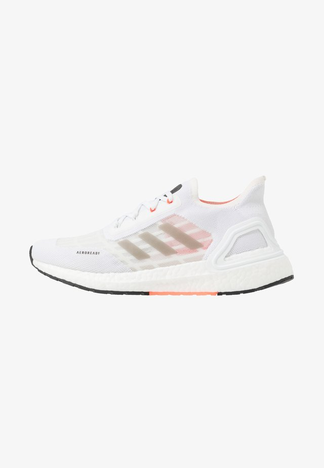 ULTRABOOST A.RDY - Neutrala löparskor - footwear white/core black/solar red