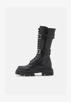 ALESSIA - Lace-up boots - black