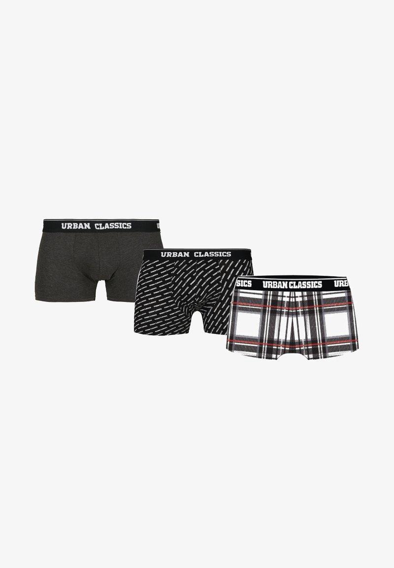 Urban Classics - 3 PACK - Shorty - black / white