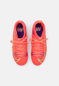 Nike Performance - MERCURIAL 8 ACADEMY AG UNISEX - Tekonurmikengät - bright crimson/metallic silver - 3