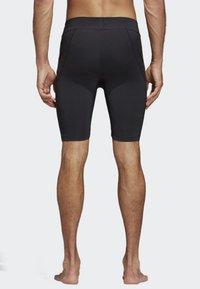 adidas Performance - ALPHASKIN TECH SHORT 3-STRIPES TIGHTS - Sports shorts - black - 1