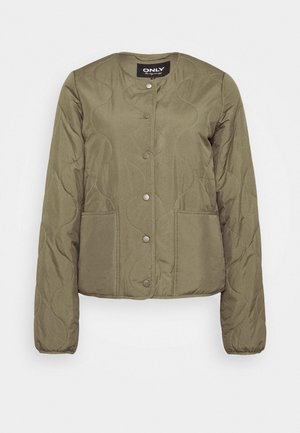 ONLJASMIN QUILTED JACKET - Light jacket - green