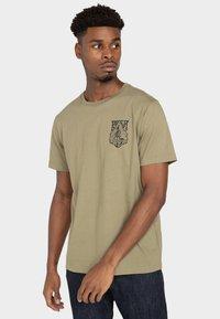 RVCA - Print T-shirt - cactus - 0