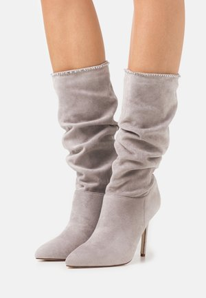 SHORE - High heeled boots - grey