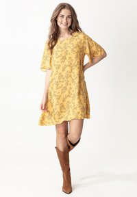 Indiska - SAMIRA - Day dress - ltyellow - 0