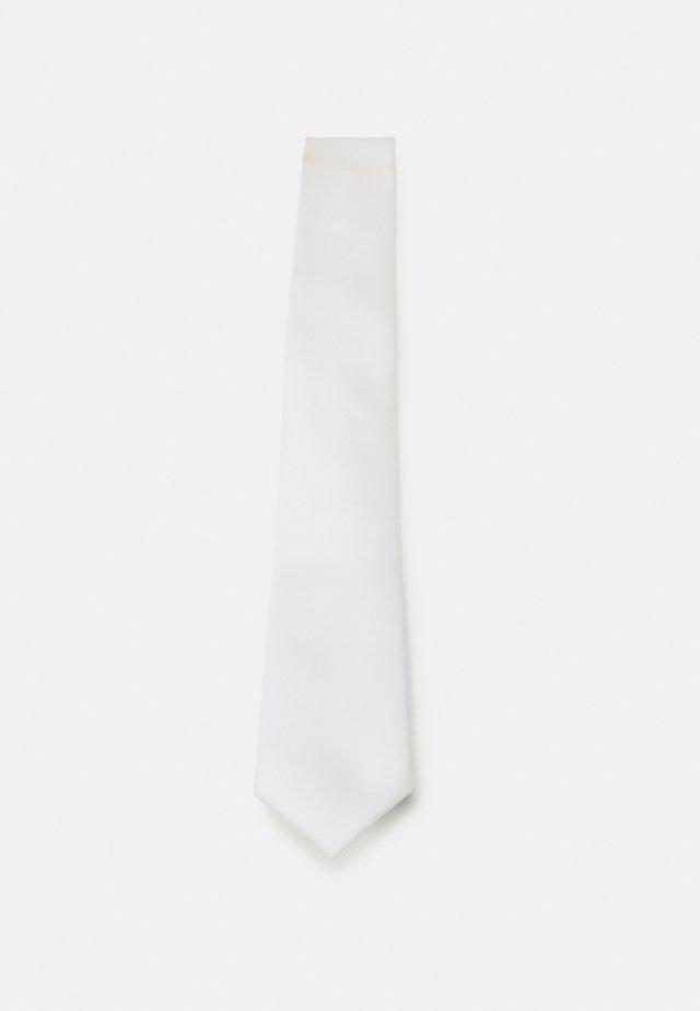 Tie - white