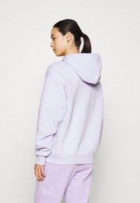 Monki - Hoodie - lilac purple dusty light solid - 2