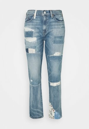 AVERY - Relaxed fit jeans - light indigo