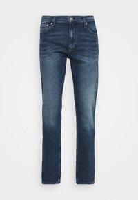 Calvin Klein Jeans - STRAIGHT FIT - Straight leg jeans - denim dark - 0