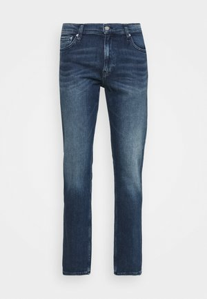 STRAIGHT FIT - Straight leg jeans - denim dark