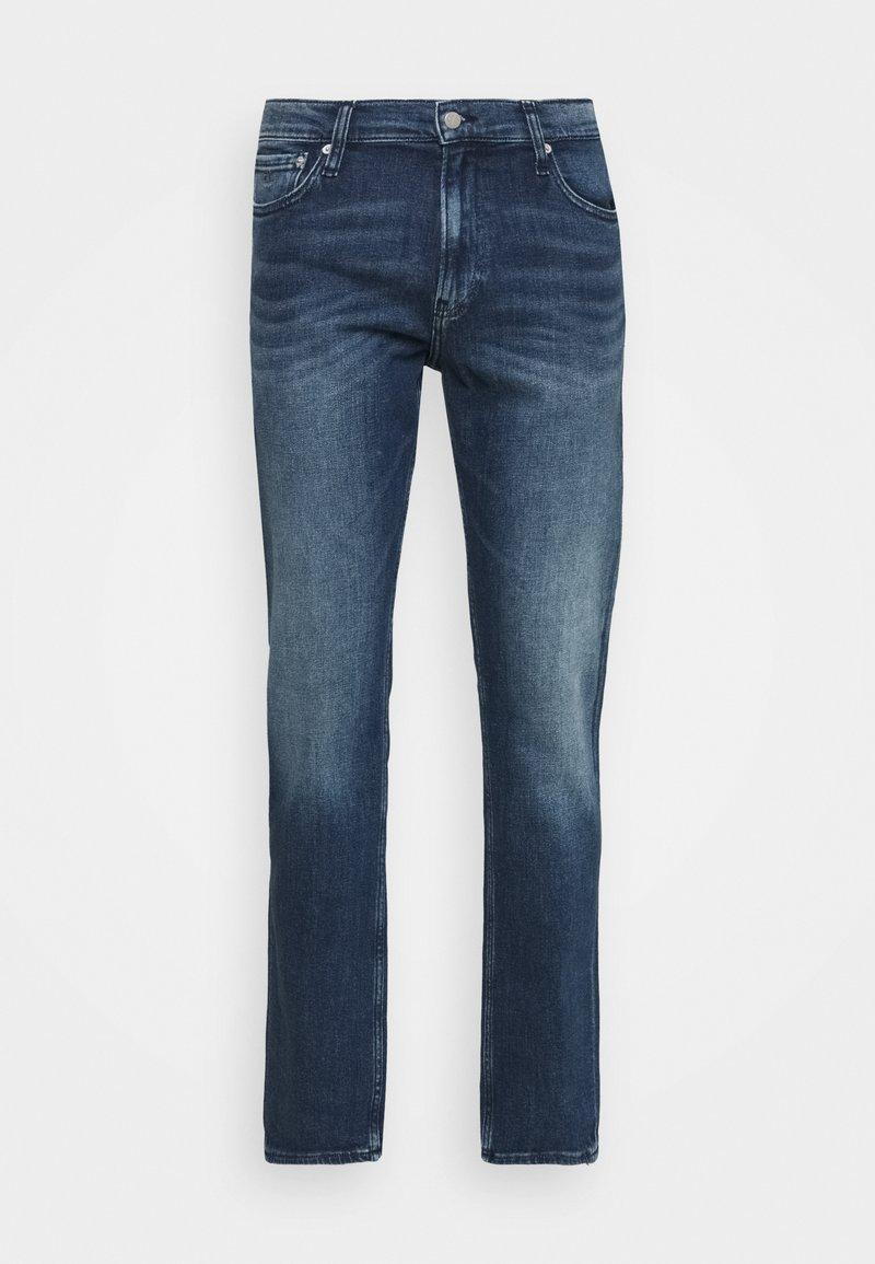 Calvin Klein Jeans - STRAIGHT FIT - Straight leg jeans - denim dark