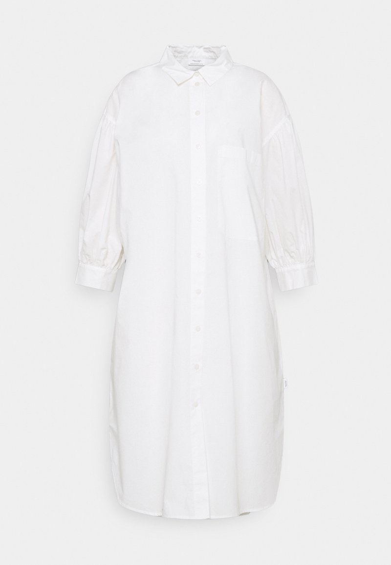 Marc O'Polo DENIM - WOVEN DRESSES BOHO STYLE LONGSHIRT - Shirt dress - scandinavian white