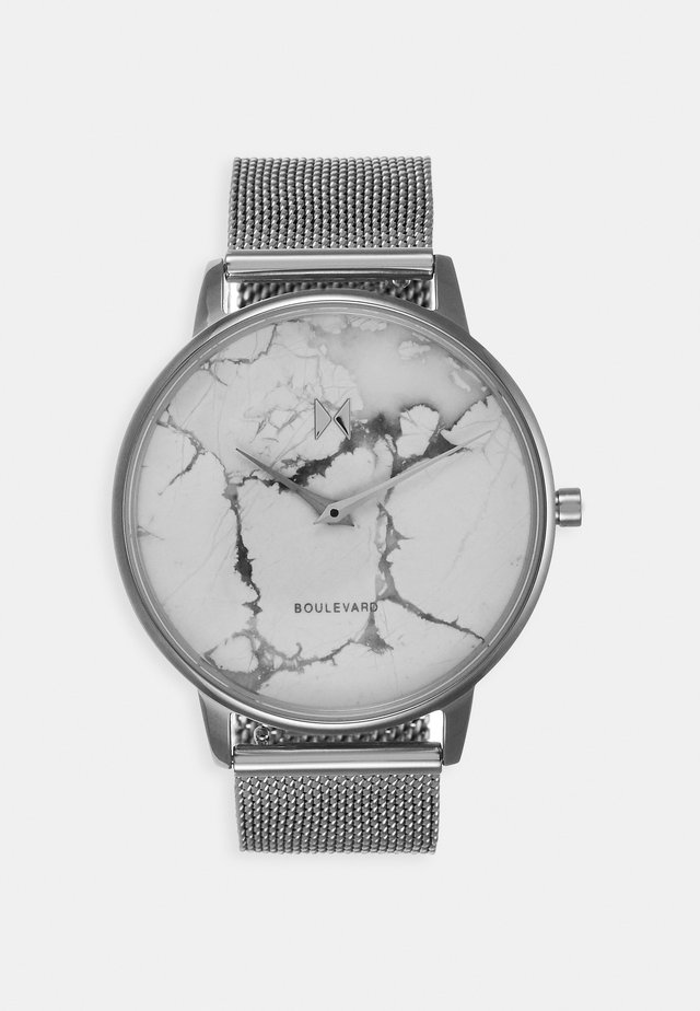 MARBLE VENICE - Horloge - silver-coloured