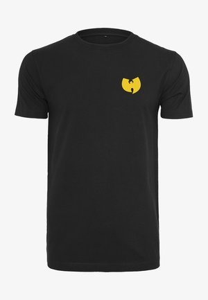 WU-WEAR FRONT-BACK TEE - T-shirt z nadrukiem - black