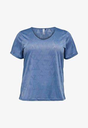T-shirt imprimé - bijou blue