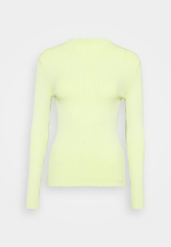 Jersey de punto - light yellow
