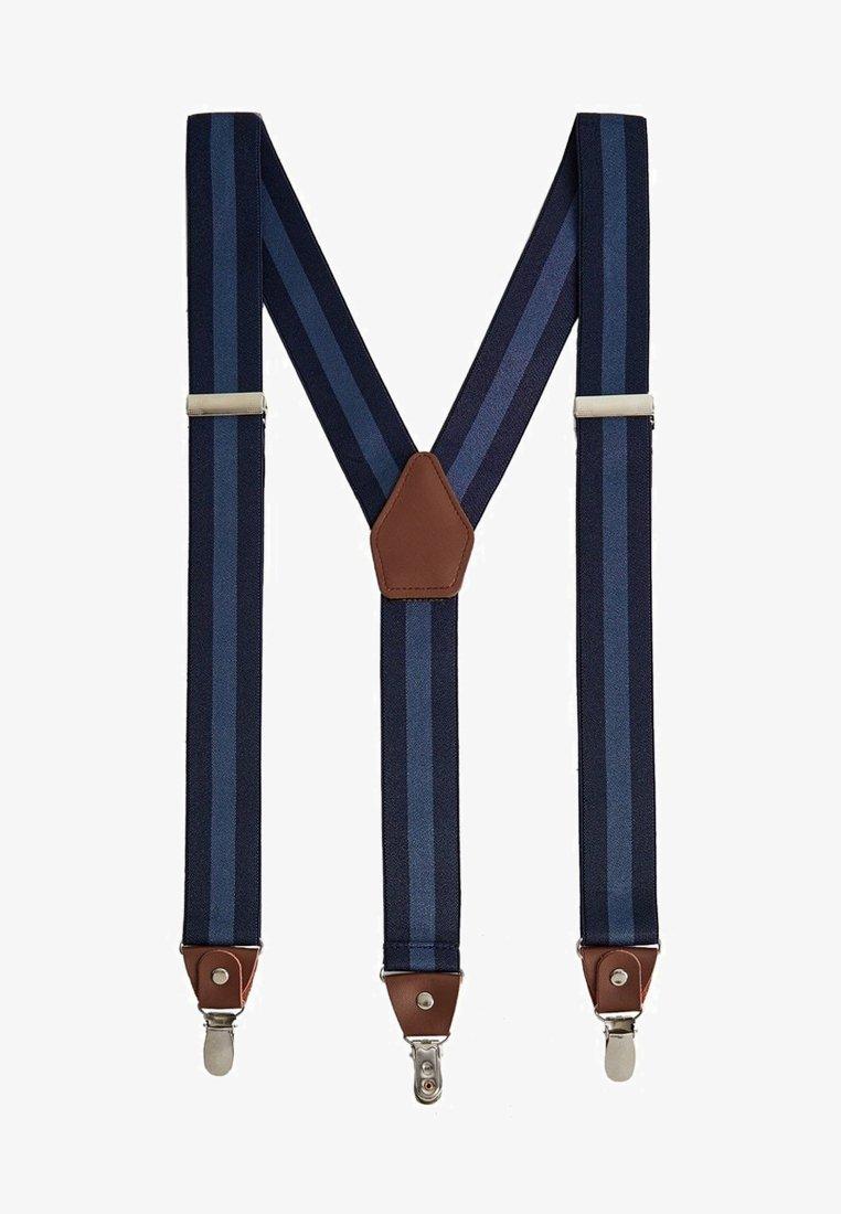 Mango - LINES - Belt - blau