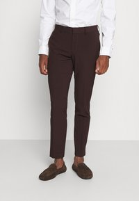 Isaac Dewhirst - THE FASHION SUIT 3 PIECE - Kostym - bordeaux - 6