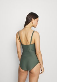 LASCANA - SWIMSUIT - Swimsuit - olive - 2