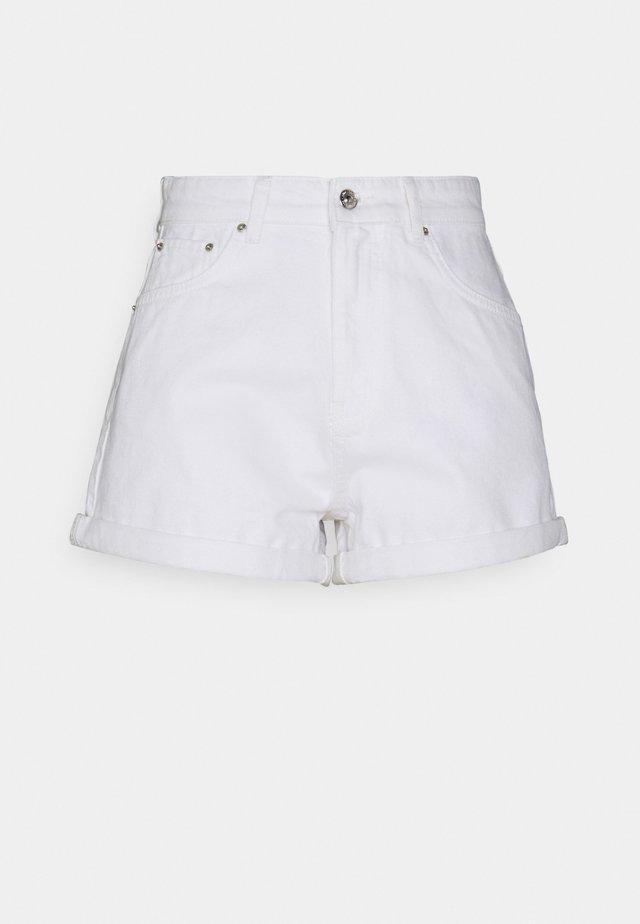 DAGNY MOM - Shorts di jeans - offwhite