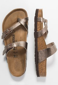Birkenstock - MAYARI - T-bar sandals - graceful taupe - 3