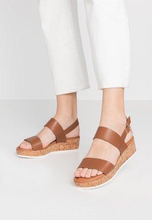 LENNIIE - Platform sandals - tan